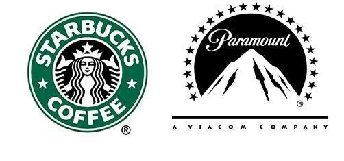 لوگوی برند استارباکس و پارامونت