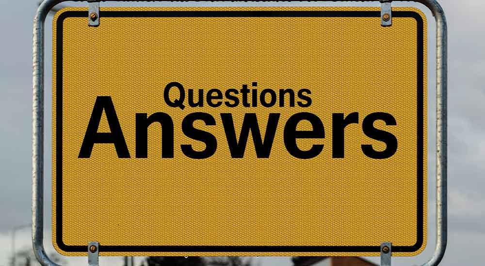پرسش و پاسخ های مناسب در صفحه سوالات متداول