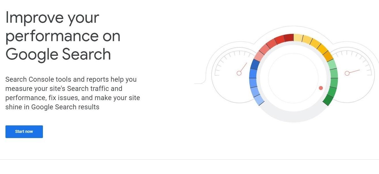 گوگل سرچ کنسول