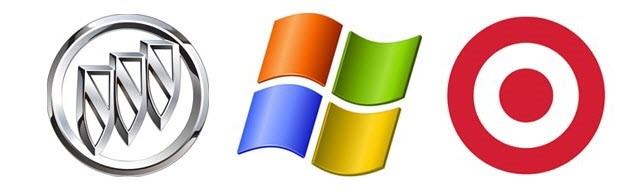 لوگوی برند مایکروسافت، تارگت و جنرال موتور
